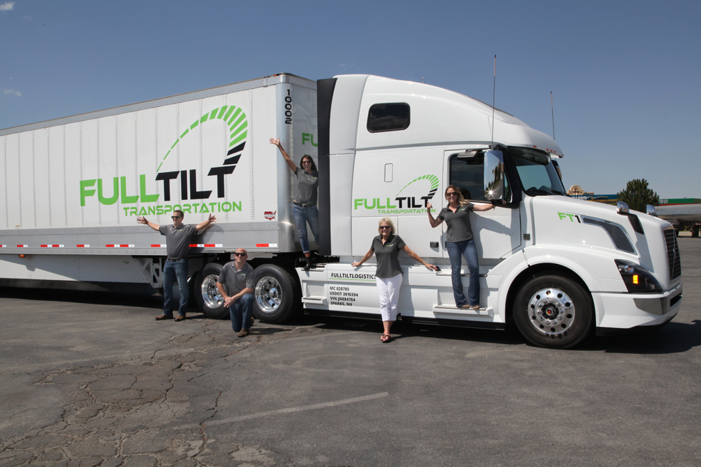 What Truck Driving Careers with Full Tilt Transportation Can