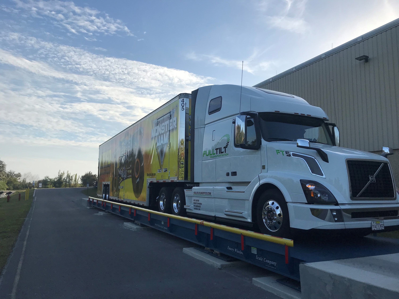How To Transport a Monster Truck - Full Tilt Expo