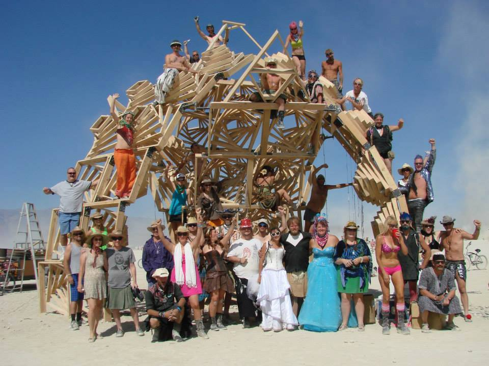 burning man art xanadu