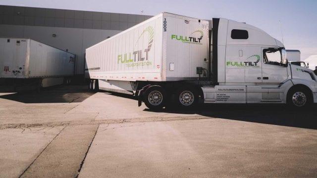 Full Tilt Logistics truck